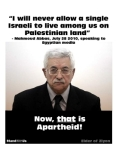 Abbas - no Jews allowed 270x349