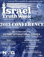 2013 Israel Truth Week conference poster 800px