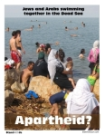 Jews - Arabs in Dead Sea - apartheid 270x349
