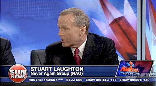 120307 SUN TV, Michael Coren show: Stuart Laughton