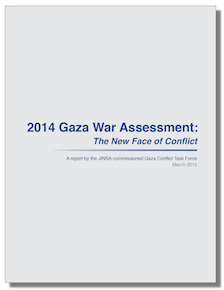 Jewish Institute for National Security Affairs, March 2015: 2014 Gaza War Assessment: The New Face of Conflict