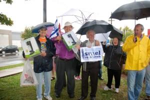 130921 ITW Sodastream vigil-DavidFreeman-MarkVandermaas-SalomonBenzimra-VarditFeldman-SteveScheffer